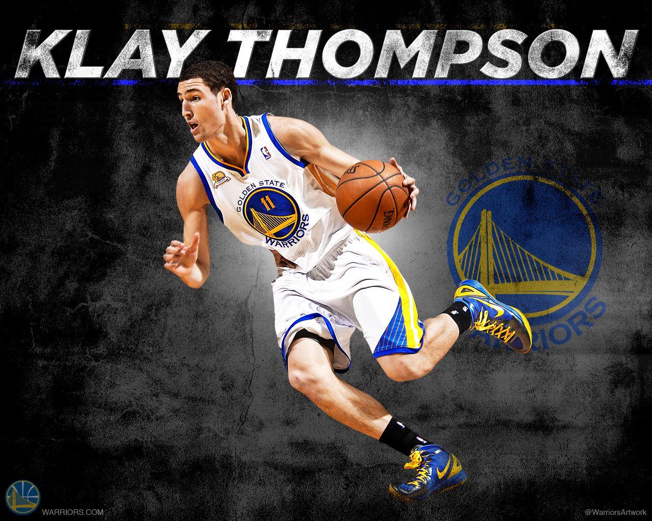 Klay Thompson Golden state warriors basketball