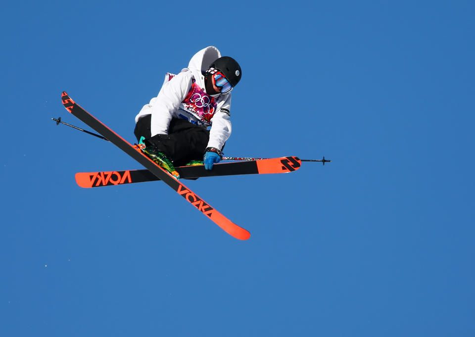 DAY 7:  Otso Raisanen of Finland competes in the Freestyle Skiing Men's Ski Slopestyle Qualification http://sports.yahoo.com