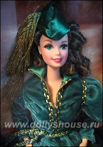 Кукла Барби Скарлетт О'Хара | Барби, Куклы барби, Куклы
