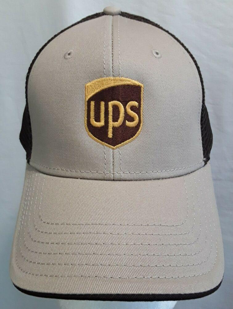 9ae9d7b7 UPS United Parcel Service Twill Edge Visor Low Profile Pro Style Meshback  Cap #fashion #