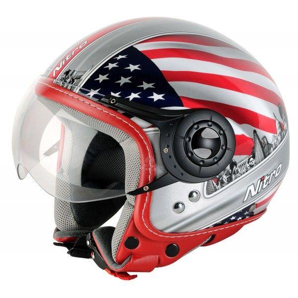 Casque Moto Jet Nitro Usa Casque Moto Jet Casque Moto Moto Jet
