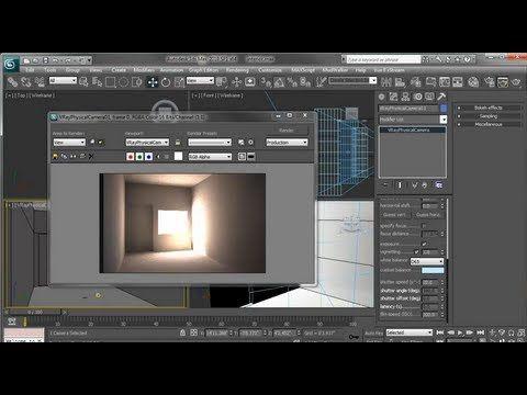 Aprende a Iluminar Interiores con Vray 1/3 - YouTube