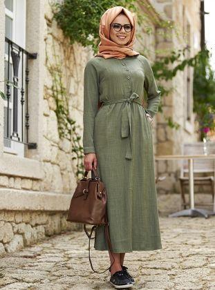 Tesettur Elbise Modelleri Modanisa Com Elbise Elbise Modelleri Giyim