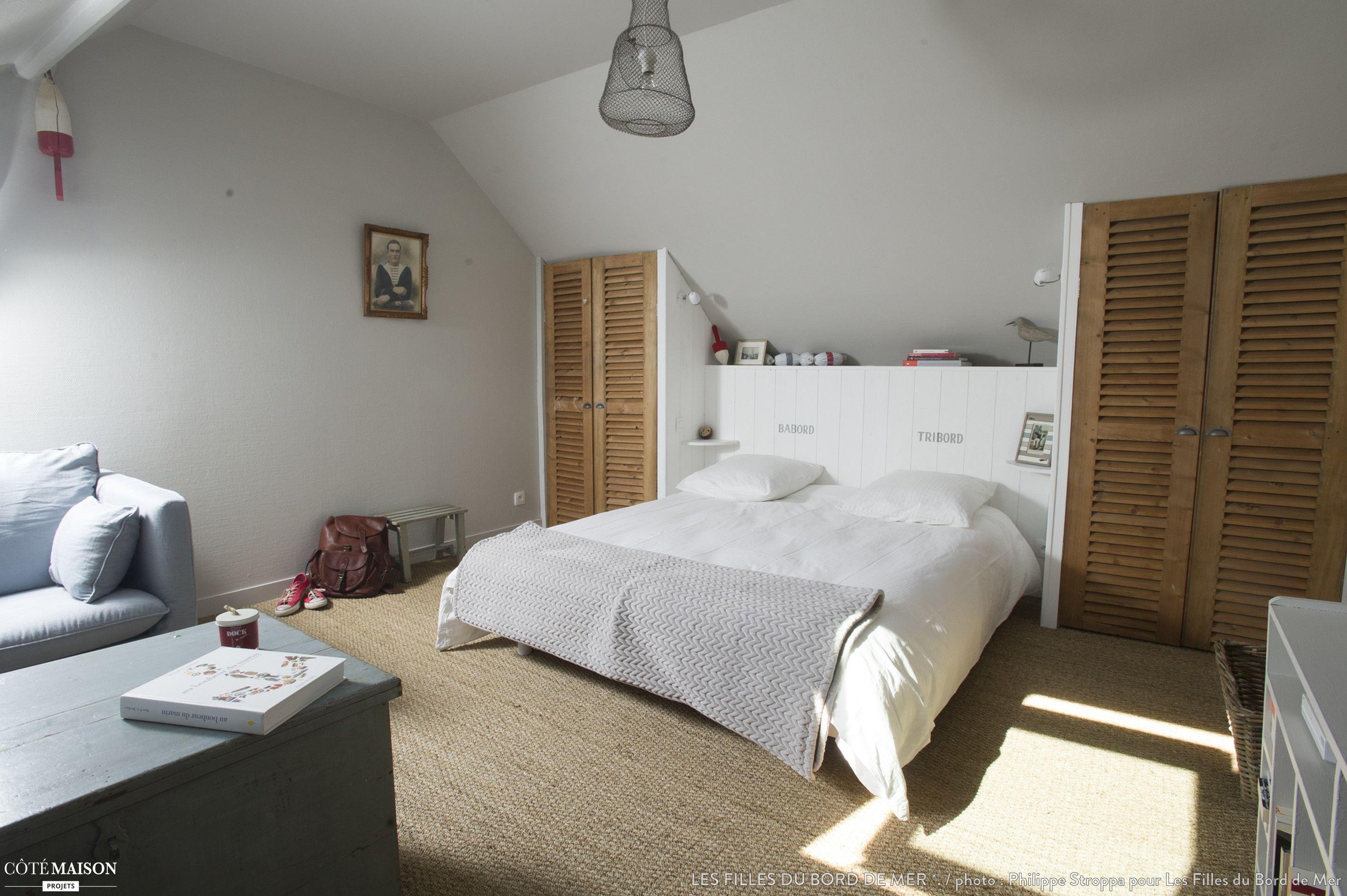 Appartement De Vacances Sur Les Quais D Un Port De Peche Normand Idee Chambre Chambre Parentale Sous Toit Chambre Jonc De Mer