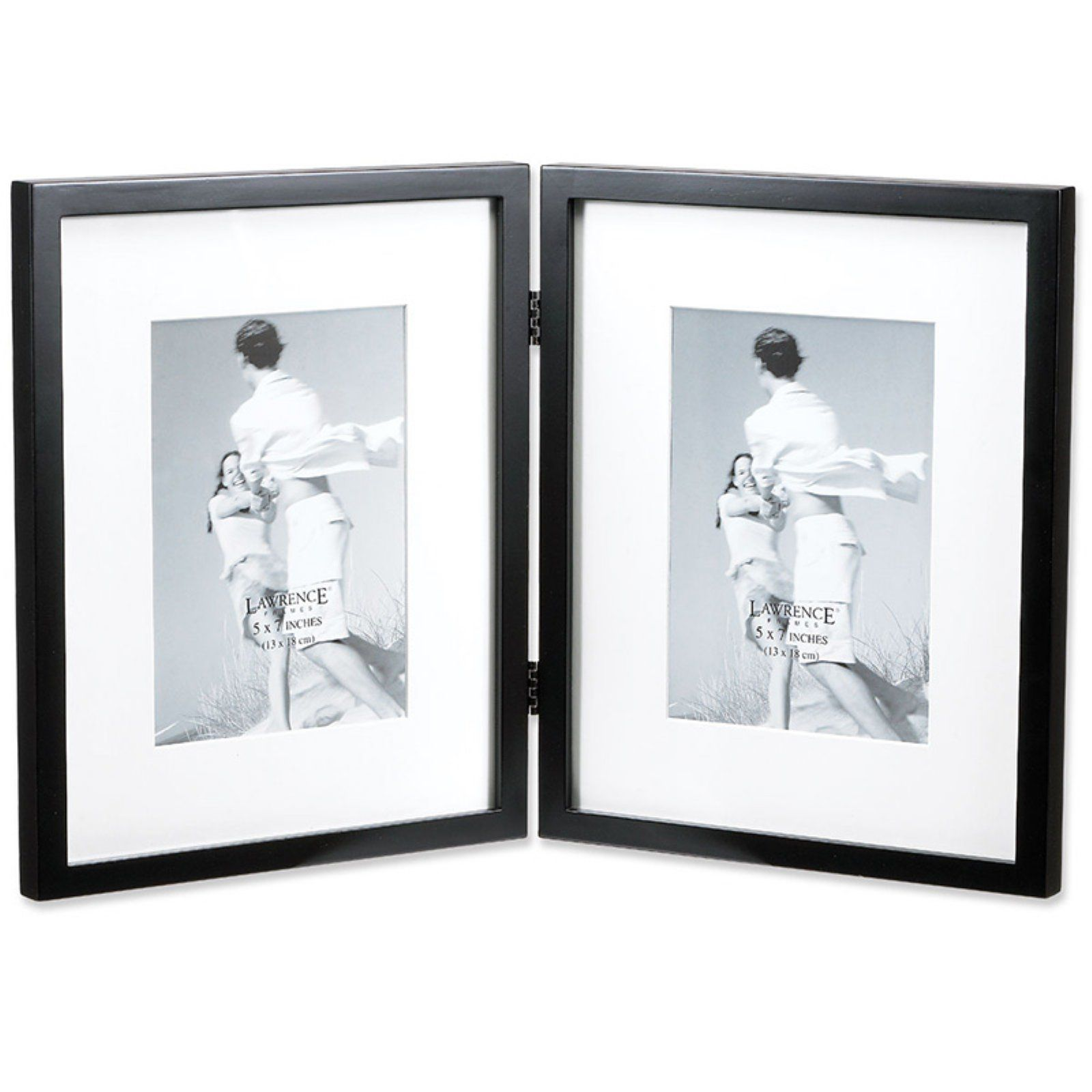 Lawrence Frames White Wood Picture Frame 10 by 10-Inch