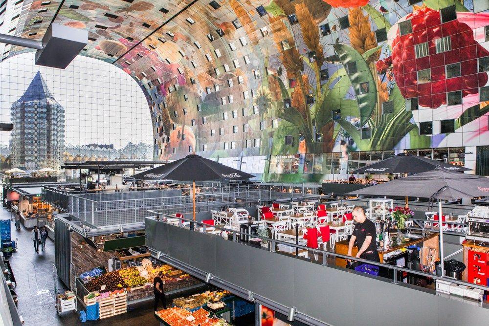 Holland, Rotterdam, neue Markthalle, Markthal