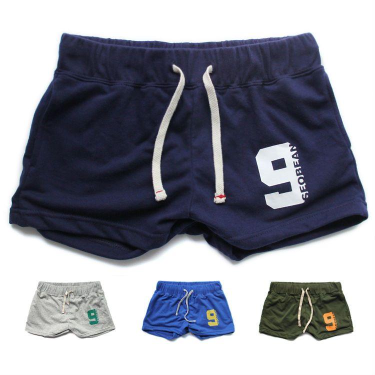 ed4ae7a9a91 Newest mens cotton gym shorts Men Sport shorts Lounge trunk boxers S M L XL  active wear male Tennis Shorts Yoga Wear