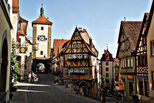 Rothenburg Ob Der Tauber Germany Rothenburg Ob Der Tauber Rothenburg Pictures Of Germany
