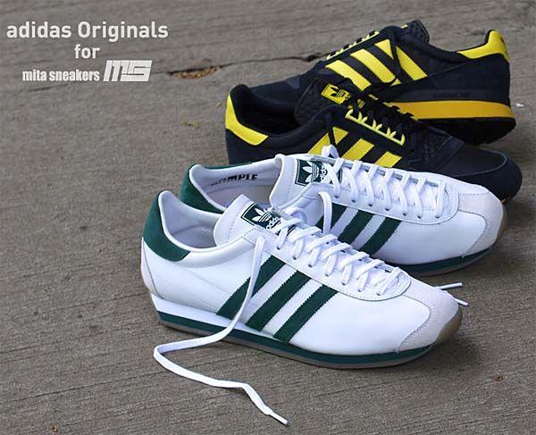 51856299edcf adidas Originals for mita sneakers CTRY OG MITA  WHITE GREEN GUM  (M21876)