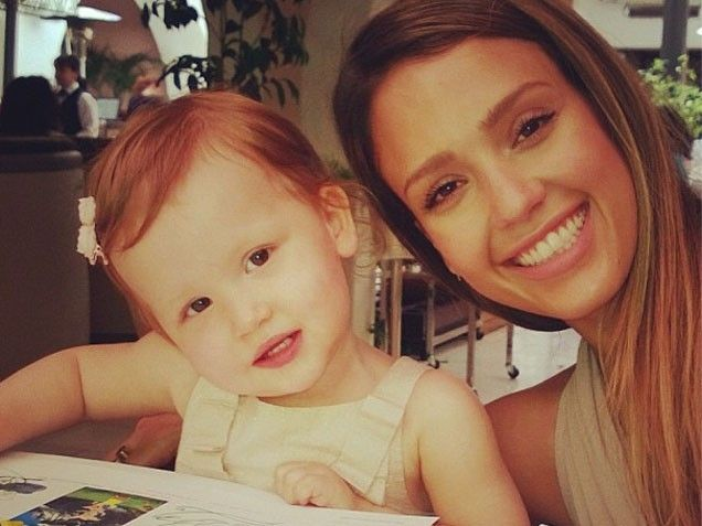 Jessica Alba Haven Mother's Day