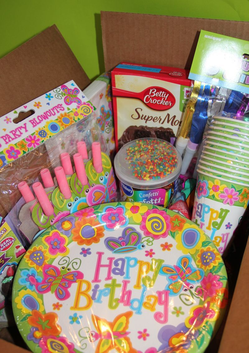Birthday In A Box Service Project Girl Scout Ideas Service