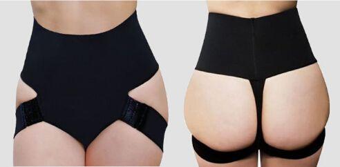 fbff17ef41e Sexy women butt lift shaper spandex butt lifter plus size boyShort butt  enhancer panty booty lifter with tummy control underwear