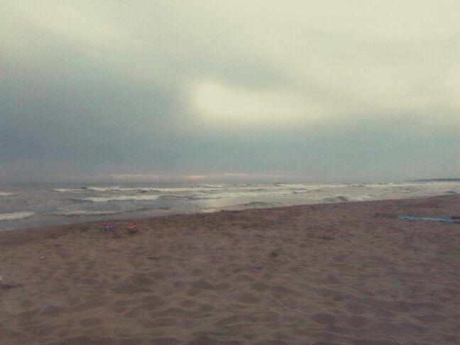 Miss the sun, The beach The sea.