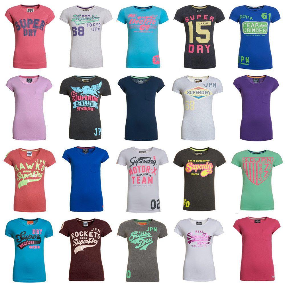 Wow Neues Damen Superdry B Ware Tshirt Versch Modelle Und Farben Wow Ebay Superdry Superdry Women Superdry Fashion