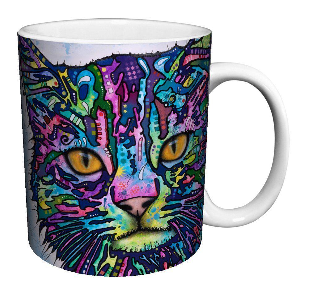 Dean russo cat close up modern animal art