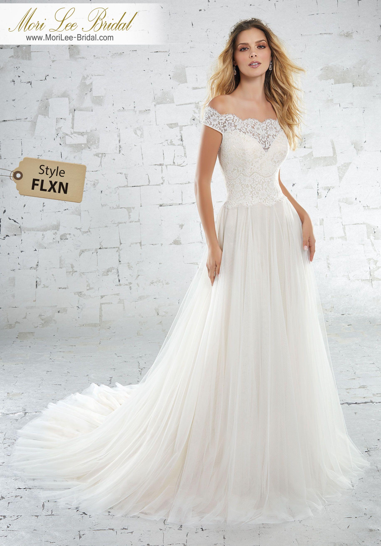Style FLXN Kolette Wedding Dress Classic Soft Ballgown Featuring a ...