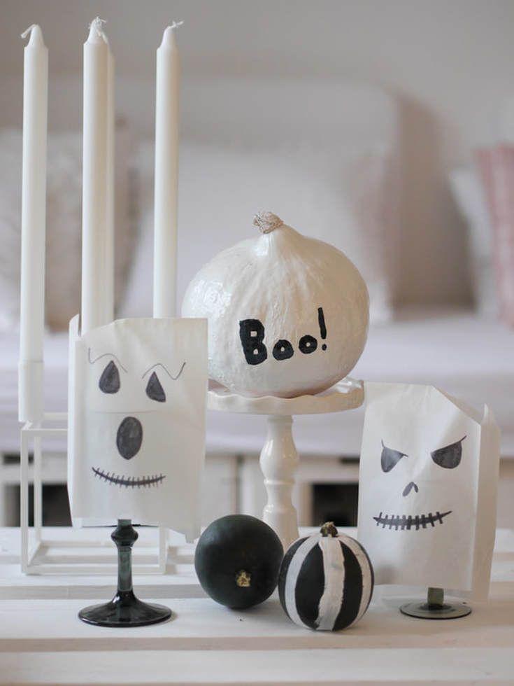 Halloween Deko Basteln Mit Kindern Windlichter Halloween Basteln Halloweendeko Halloween Deko Basteln Halloween Herbst Deko Halloween Deko