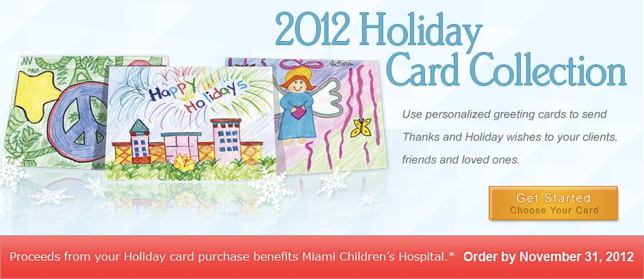 Miami Children's Hospital Holiday Cards: Proceeds benefit Miami Children's Hospital