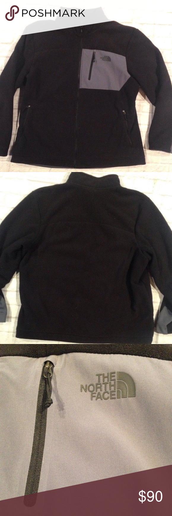 The North Face Fleece Fur Lining Zip Up Jacket North Face Fleece Long Sleeve Tshirt Men North Face Jacket [ 1740 x 580 Pixel ]
