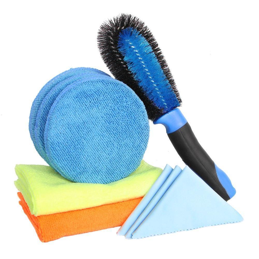 Car Cleaning Kit 2Pcs Microfiber Towel Car Cleaning Cloth