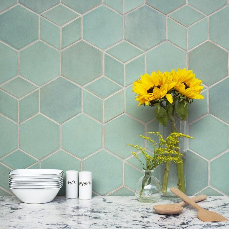 Blue Backsplash Variation Heath Tile Trendy Kitchen Tile Blue Tile Backsplash Kitchen