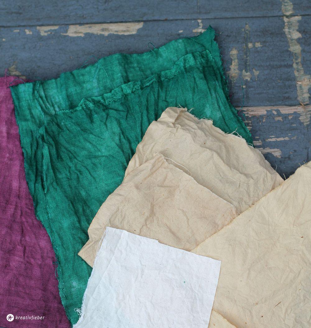 diy baumwollstoff f rben nat rlich und mit batikfarbe batikfarbe f rben und baumwollstoff. Black Bedroom Furniture Sets. Home Design Ideas