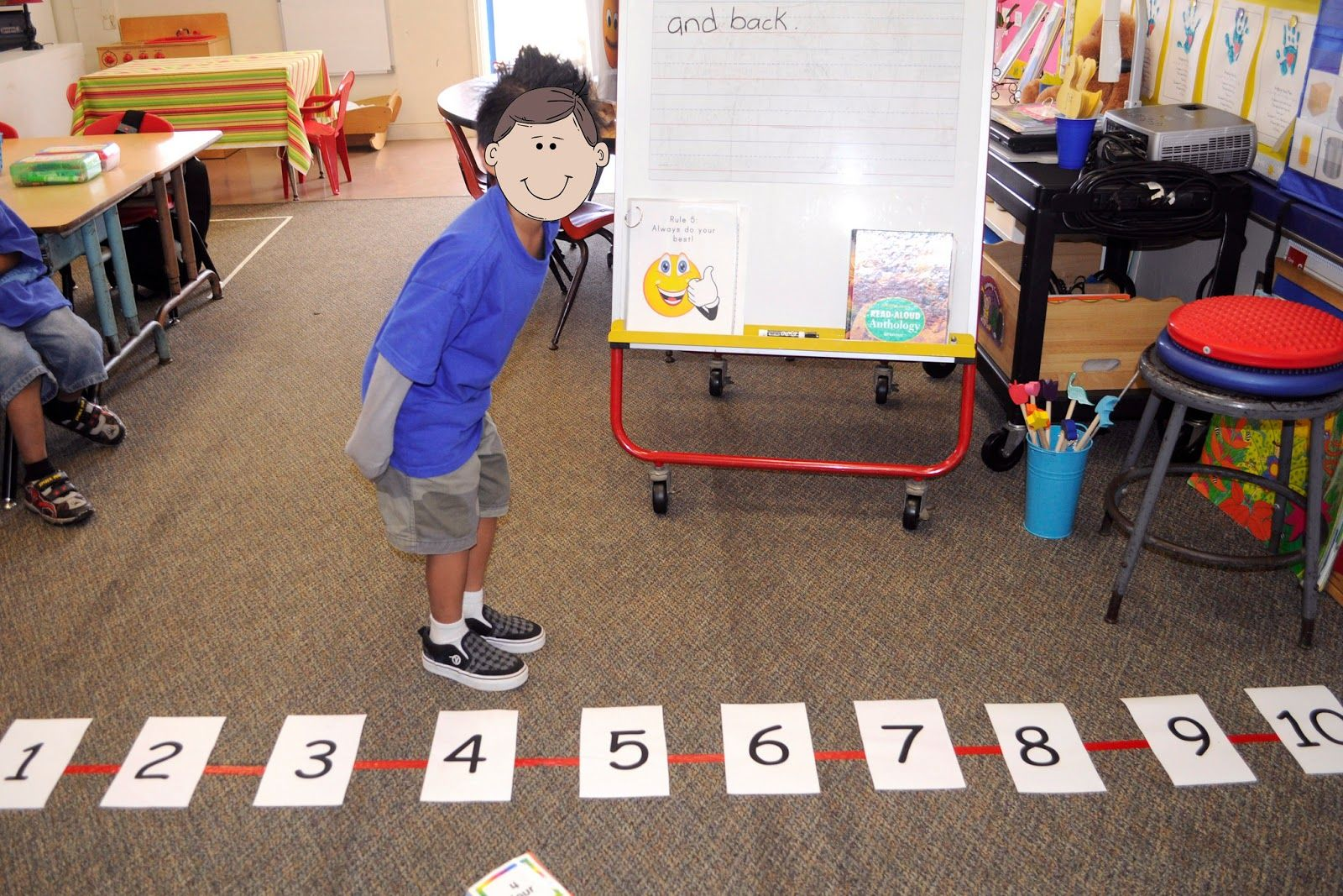 Number Line Race This Is Another Great Review Game We