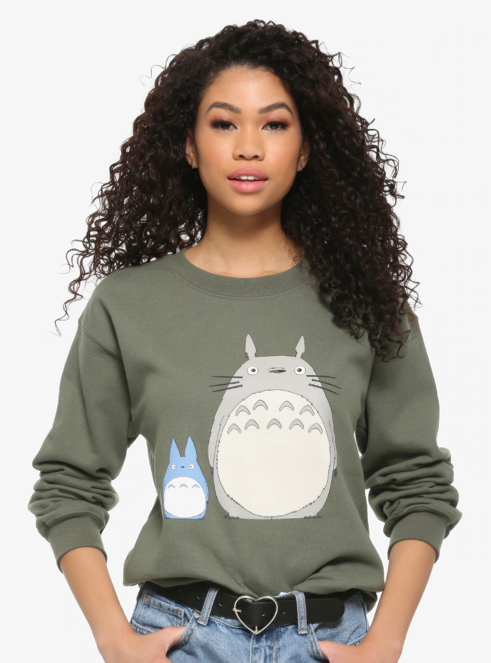 Studio Ghibli My Neighbor Totoro Forest Spirits Girls Sweatshirt Girl Sweatshirts My Neighbor Totoro Forest Spirit [ 1350 x 1000 Pixel ]
