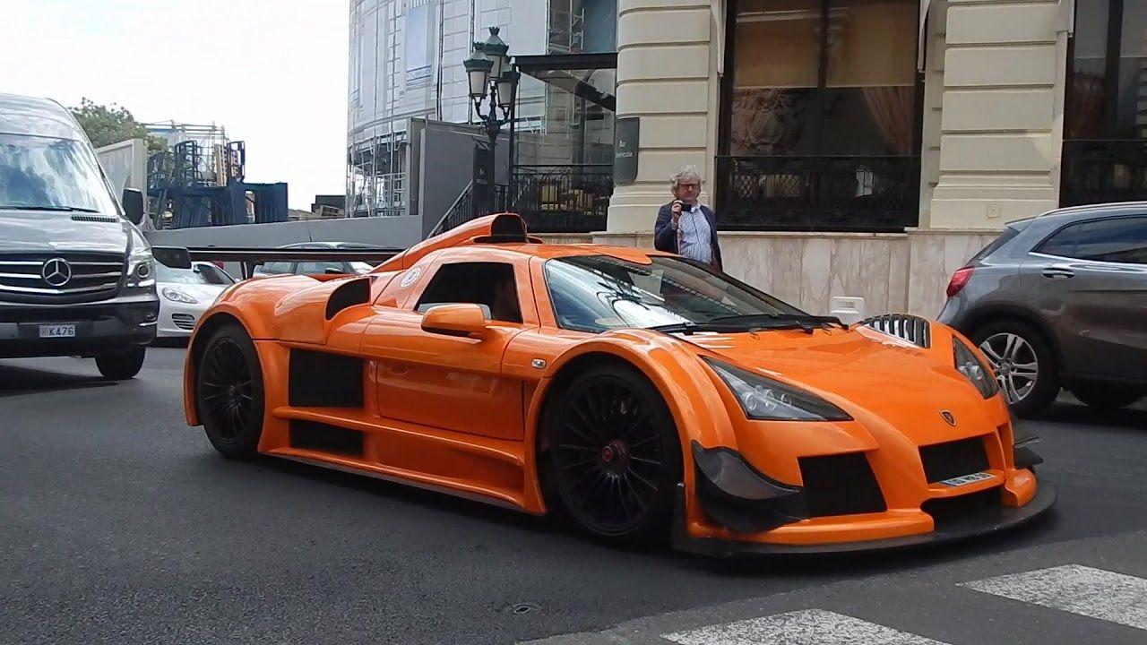 Orange Gumpert Apollo In Monaco Accelerations And Sound Hd Super Cars Acceleration Apollo