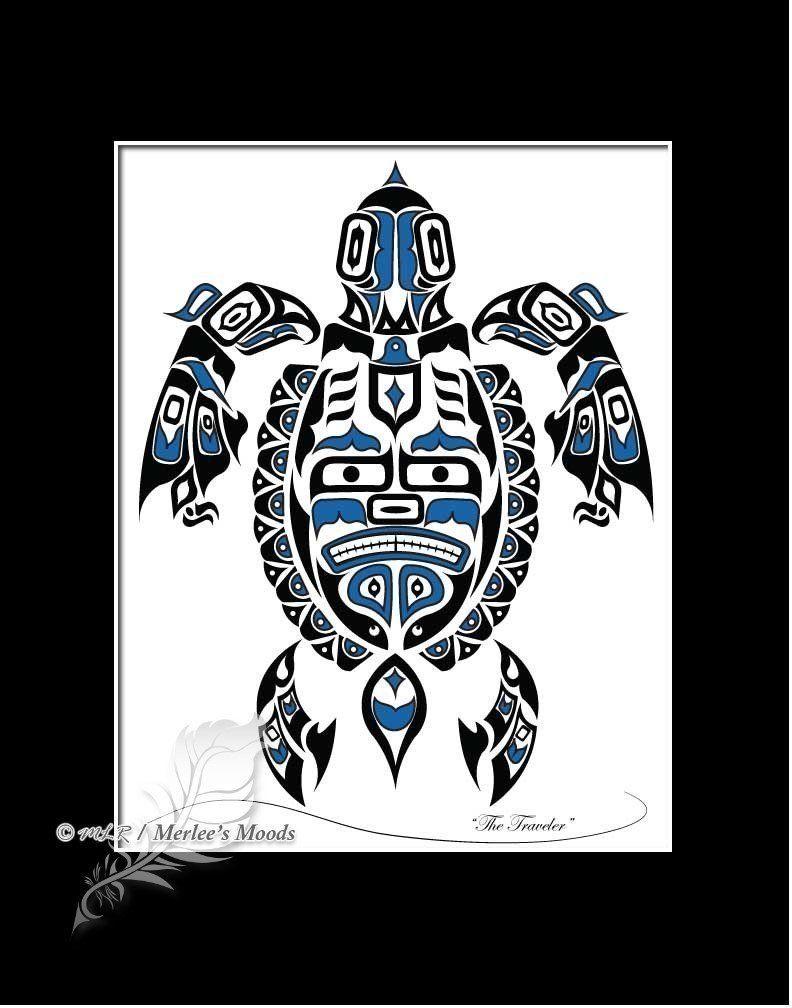 X native american art print pacific northwest coast art haida
