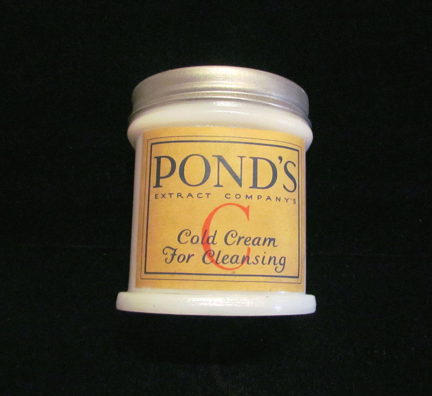 dating ponds cold cream jars