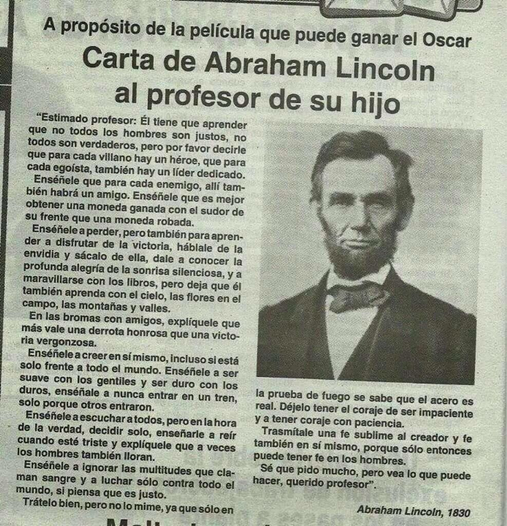 Abraham Lincoln Inspirational Quotes Lincoln