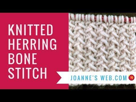 Herringbone Knit Stitch Knitted Herringbone Stitch Pattern
