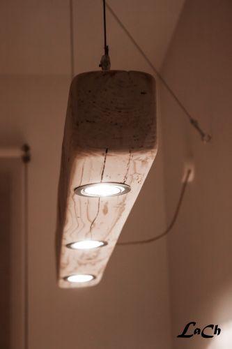 Easy wooden lights.