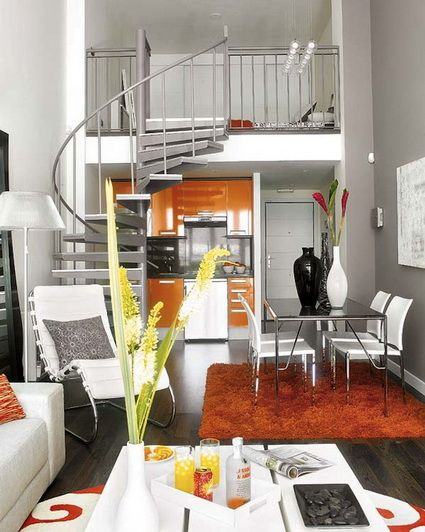 Tips para decorar apartamentos pequeños Apartamentos pequeños
