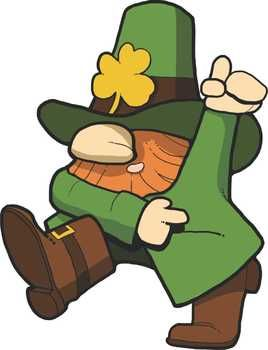 free dancing leprechaun clipart kindergartenklub com pinterest rh pinterest com leprechaun clip art pictures leprechaun clip art free for kids