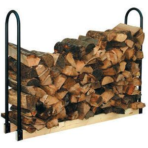 Temporary Price Reduction!!!  Adjustable Firewood Log Rack Indoor Outdoor Wood…
