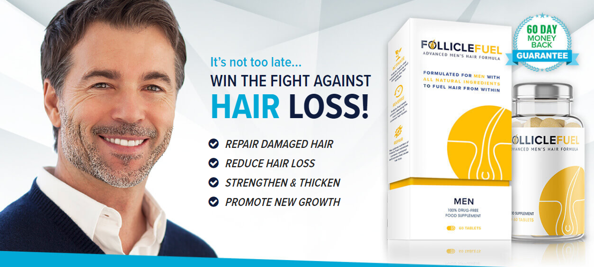 Follicle Fuel Advanced Men's Hair Formula To Fight