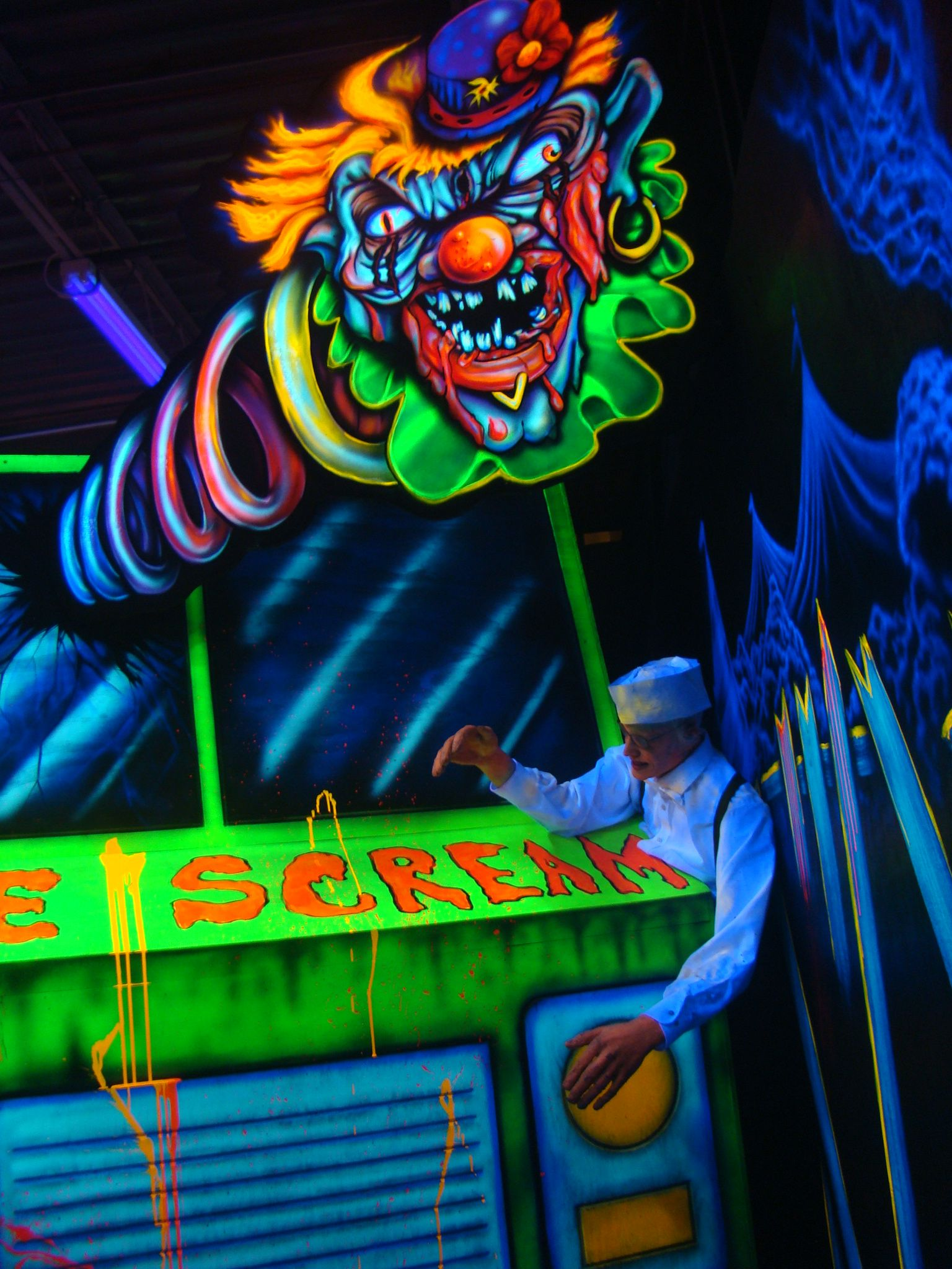 Halloween Productions Was The First Company To Market Blacklight 3D