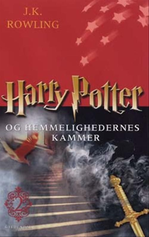 Harry Potter Book Cover Country : Denmark chamber of secrets nd cover harry potter