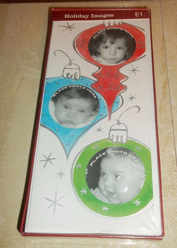 New Box Target Christmas Holiday Cards Ornament 3