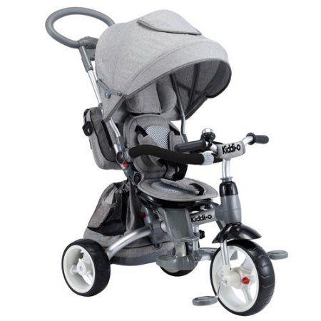 6-in-1 Multi-Trike, Gray