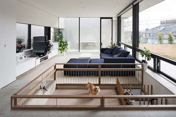 modern concrete and steel dwelling in japan by so1architect