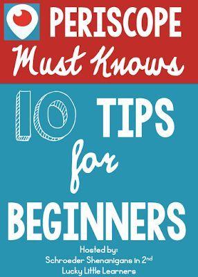10 #Periscope tips for beginners. #socialmedia