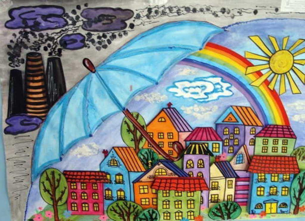 Картинки города для детского сада