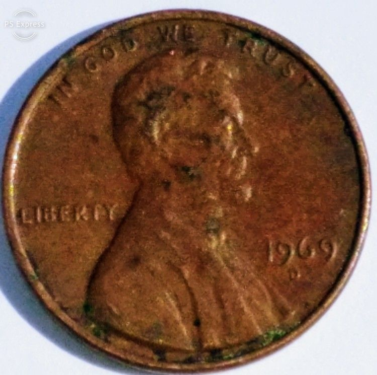 1969 D Floating Roof Error Penny Rare 120 In 2020 Rare Pennies Error Coins Penny