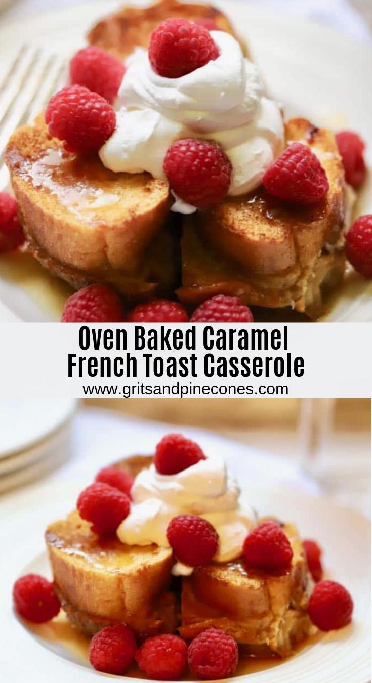 Baked Stuffed French Toast Recipe