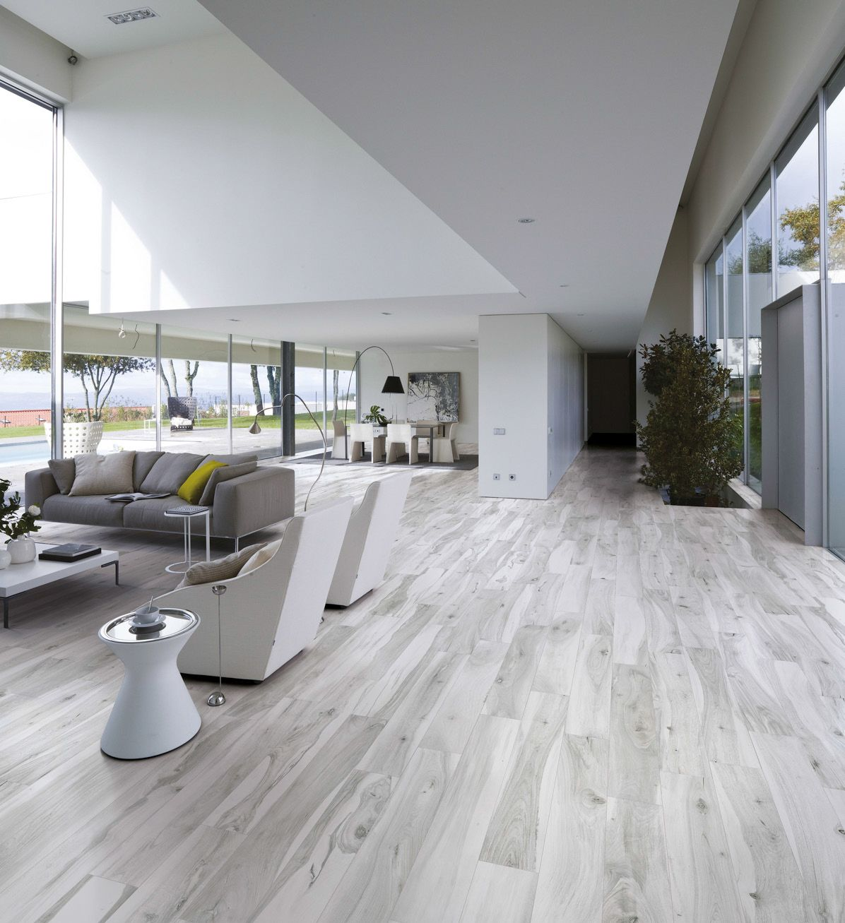 Wood Look Tile  17 Distressed  Rustic  Modern Ideas   Flooring     The wood look tile trend is going strong  and we ve discovered some amazing