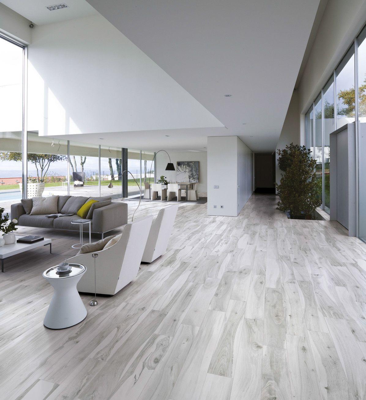 Wood Look Tile: 17 Distressed, Rustic, Modern Ideas ...