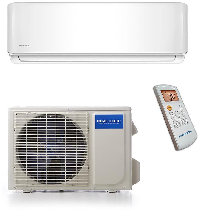 Mrcool Diy Diy12hp115ae Heat Pump System Heat Pump Heating